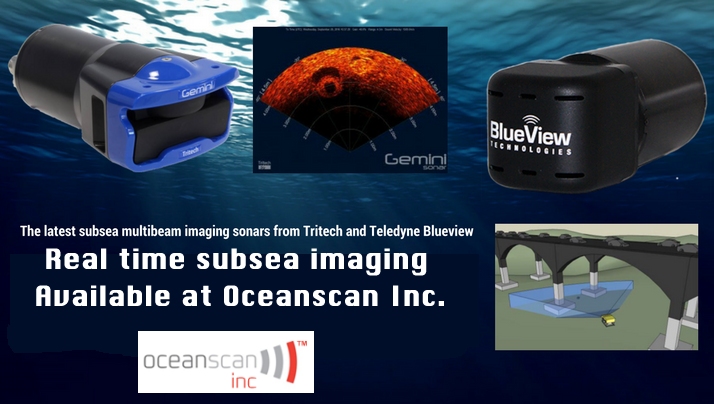THE LATEST SUBSEA IMAGING EQUIPMENT AVAILABLE AT OCEANSCAN