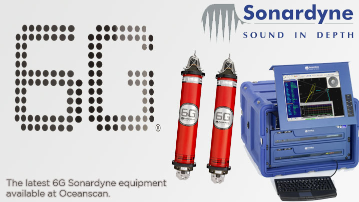 SONARDYNE 6G EQUIPMENT NOW AVAILABLE