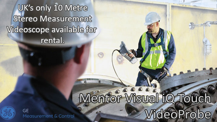 MENTOR VISUAL IQ TOUCH VIDEOPROBE FOR SALE AND RENTAL